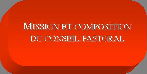Bouton comptes rendus pastoral