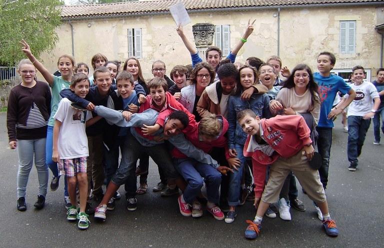 Jeunes 5è Collège Jeanne d'Arc Paroisse de Blaye