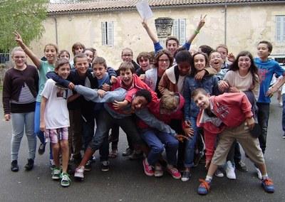 Jeunes 5è Collège Jeanne d'Arc Paroisse de Blayemodif