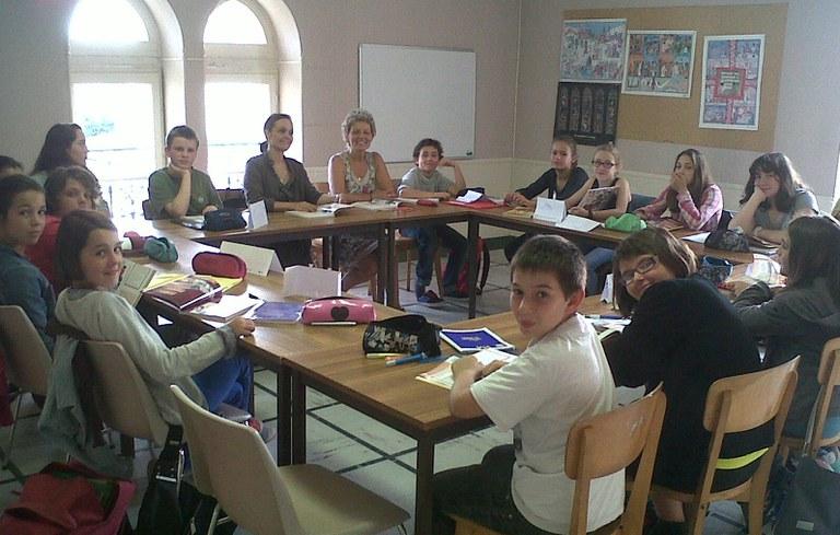 Jeunes 5è Collège Vauban Paroisse de Blaye