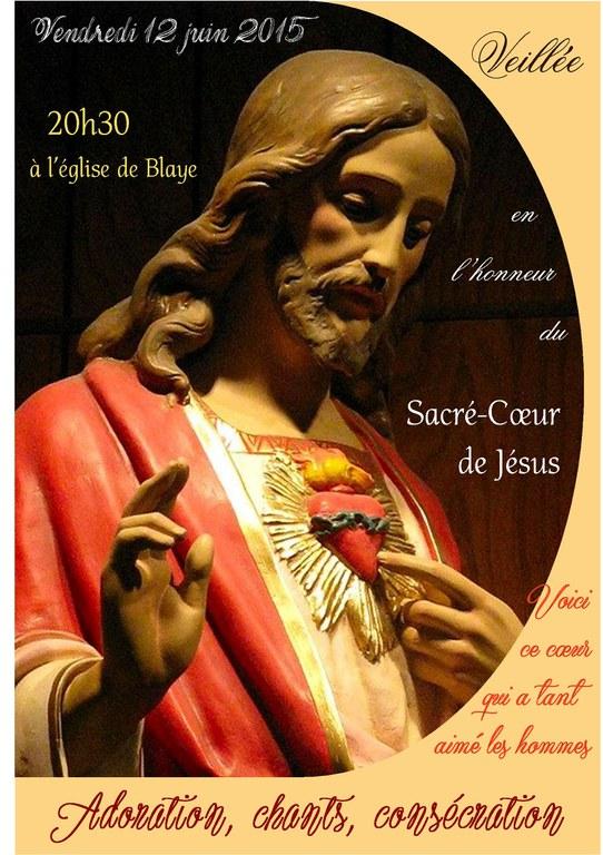 Affiche Sacré Coeur 2015