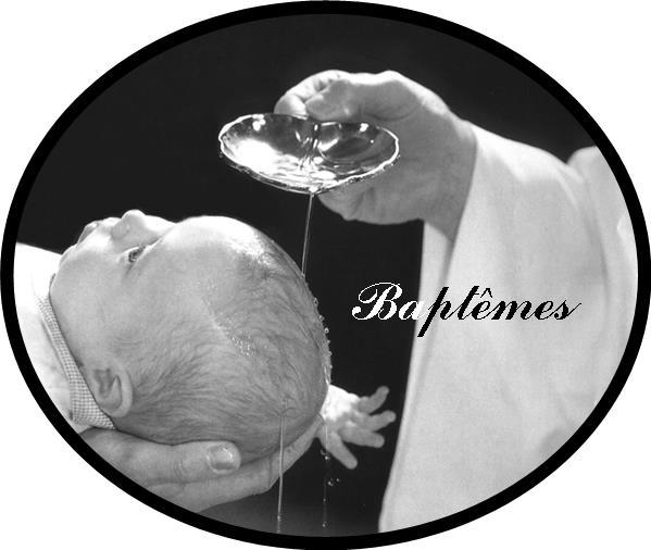 Bouton baptême