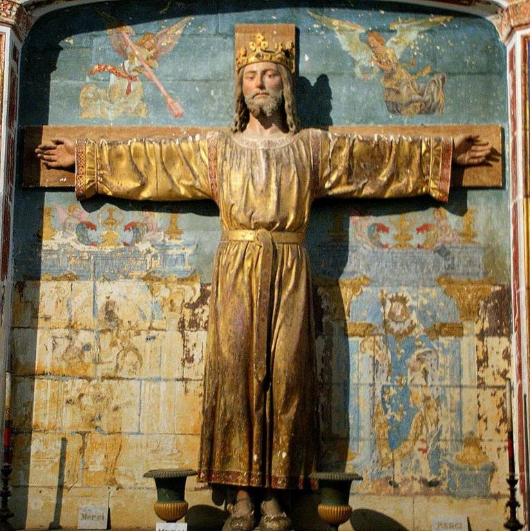 Christ Roi chapelle de la Bougonnière