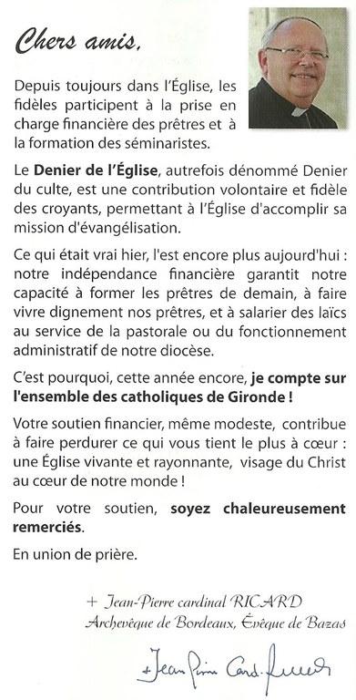 Denier Mgr Ricard