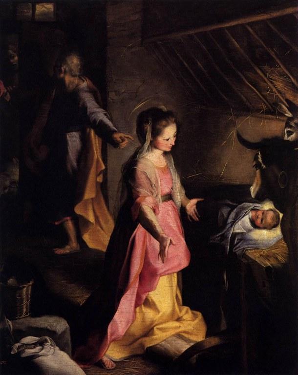 Federico Barocci   The Nativity   WGA01293