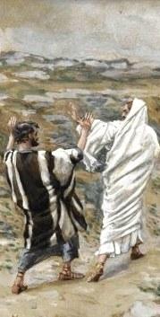 Jésus et Pierre