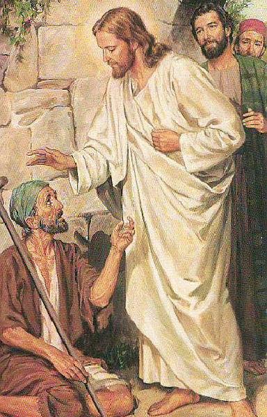 Jesus guerit l aveugle