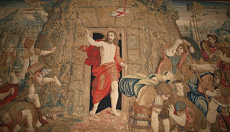 La Résurrection du Christ   Galleria degli Arazzi