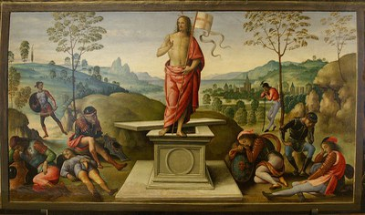 La résurrection du Christ Perugino