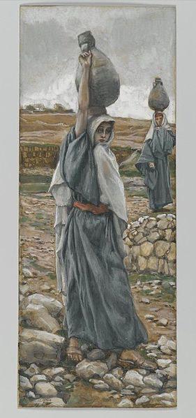 La sainte vierge jeune    James Tissot   public domain