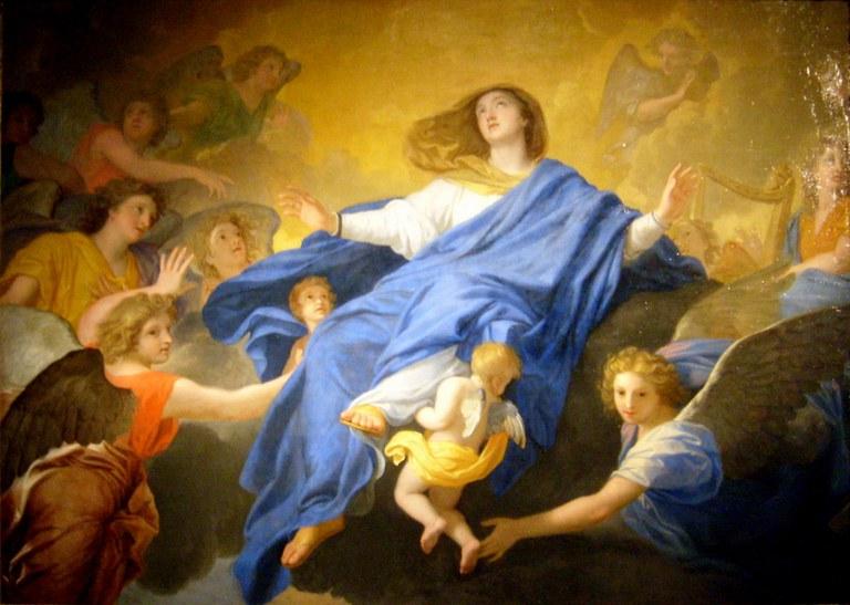L'Assomption de la Vierge, Le Brun
