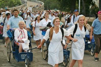 malades Lourdes