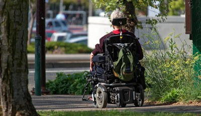 motorized wheelchair 952190 1920
