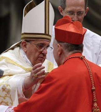 Pape et cardinal