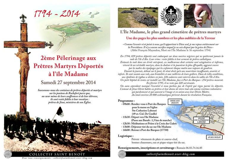 pèlerinage île madame