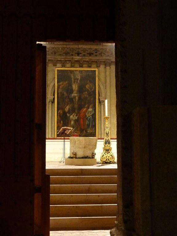 Porte sainte cathédrale