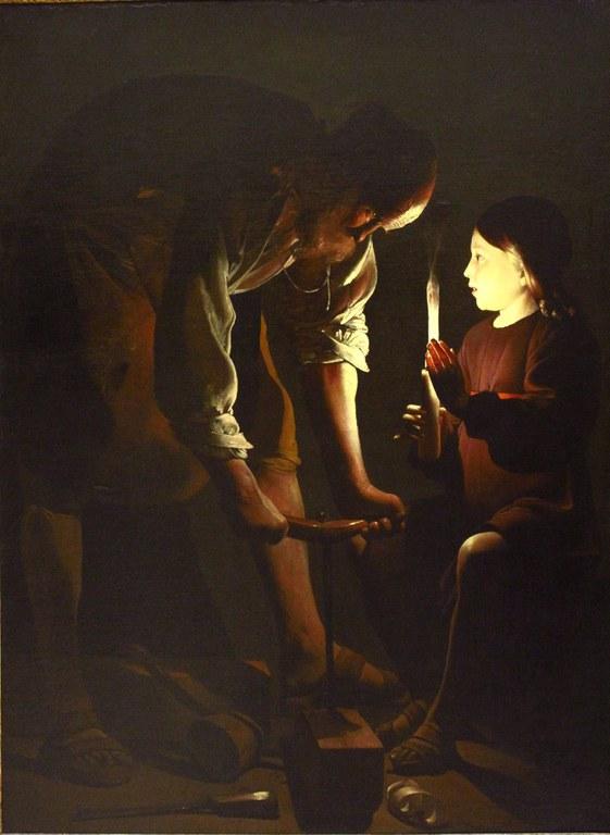 Saint Joseph charpentier (La Tour)