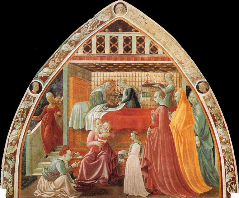 UCCELLO Paolo Birth Of The Virgin
