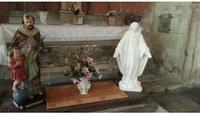 L'église de Saint Genès retrouve ses statues