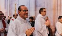 """""""Je me suis engagé a être serviteur configuré au Christ Serviteur, avec la grâce de Dieu"""""""